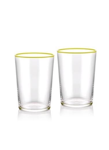 The Mia Su Bardağı 2 Li Set 500 cc Sarı Sarı